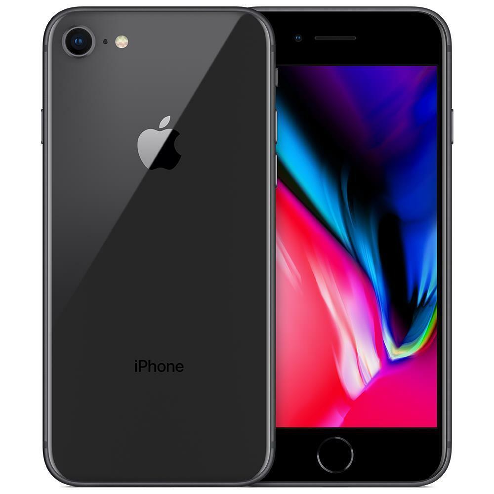 iPhone: APPLE IPHONE 8 64GB NERO RICONDIZIONATO GRADO A + GARANZIA 12 MESI + ACCESSORI
