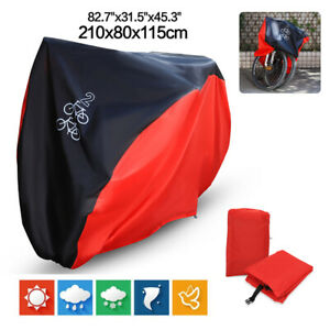 Waterproof Bicycle Cover Bike Sun Rain Dust Protector Garage Outdoor Snow Cover