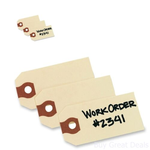 Avery Shipping Tags 2.75x1.375 Inches Manila Pack 1000 Labels