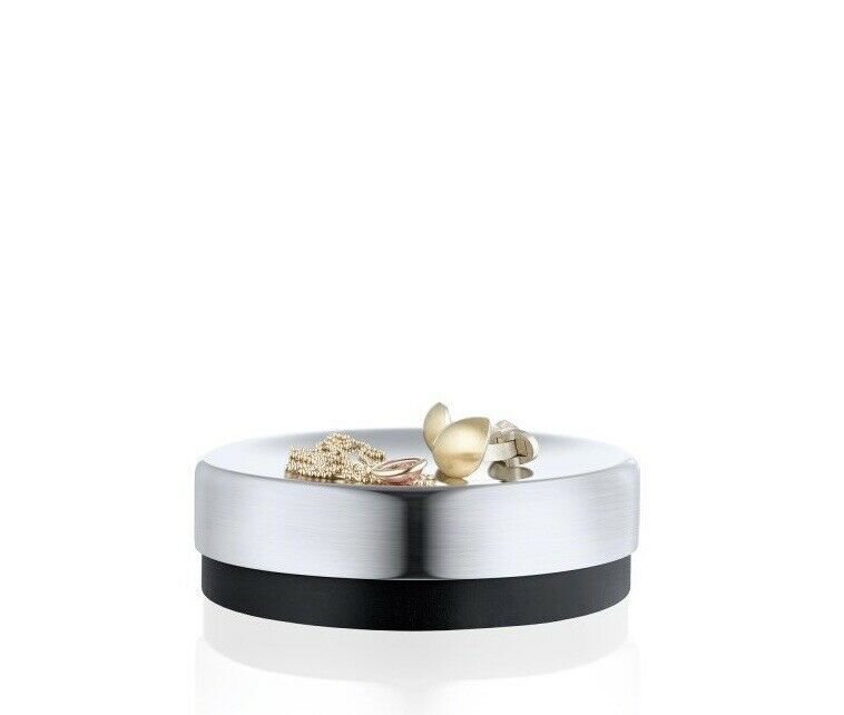 Blomus Uno Soap Dish/Jewelry Holder Polished Stainless Steel Slip Resistany Base