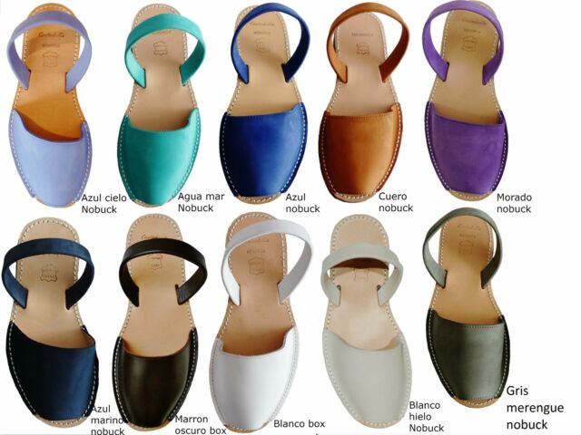 Avarcas menorquinas Menorca sandals real spain abarcas made in menorcan sandalen