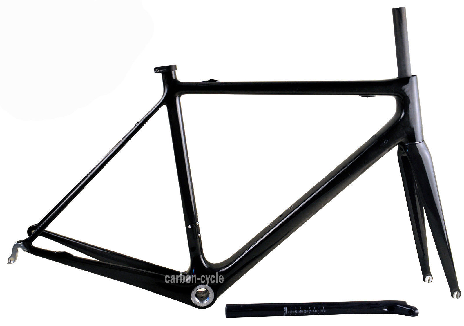 860g 56cm PF30 Carbon Frame fork seatpost Road Bike Di2 UD glossy Race 700C 25mm