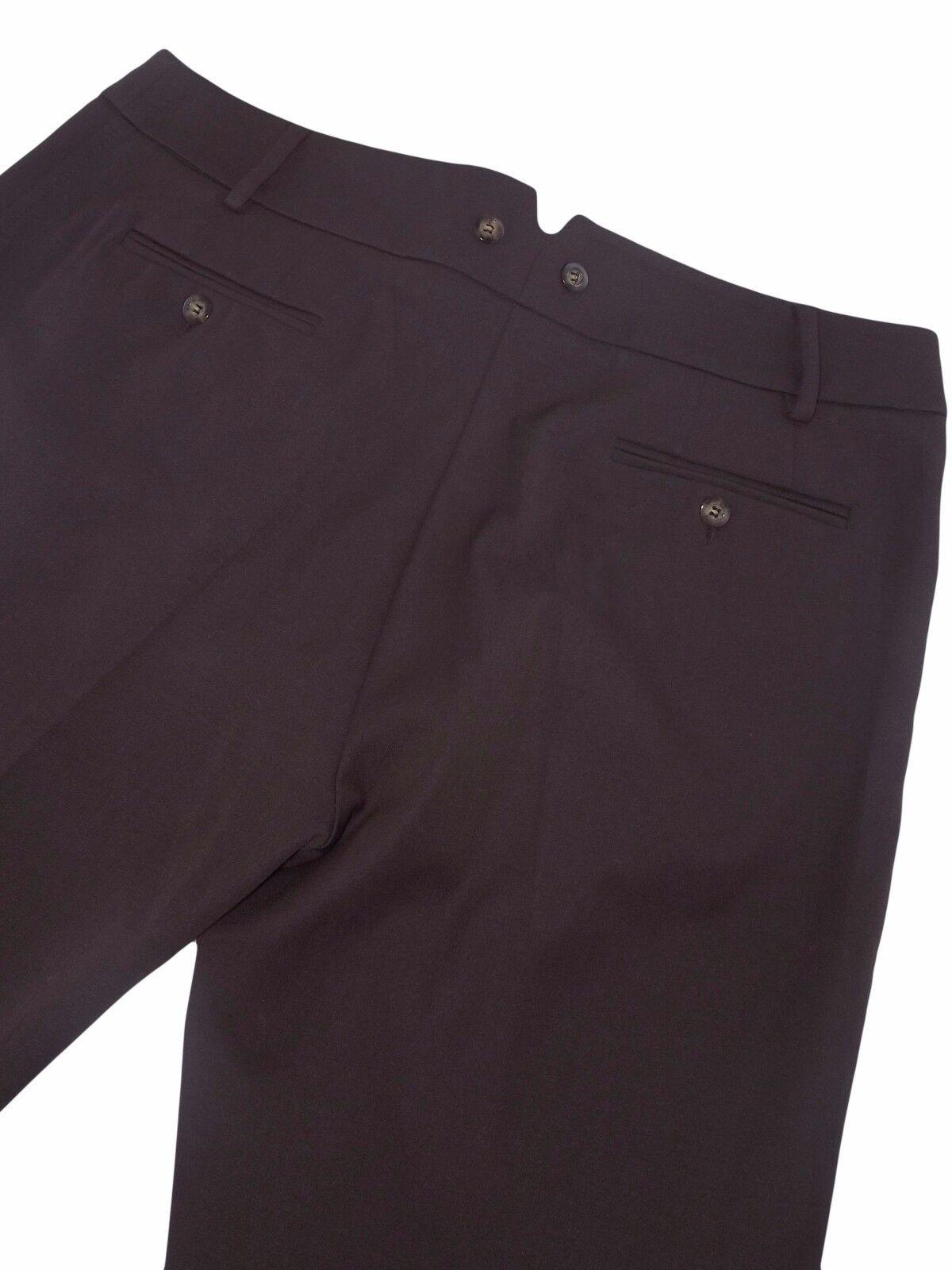 Max mara weekend pantalone Marroneee garcon fit taglia it it it 48 w 34 dritto 7db160