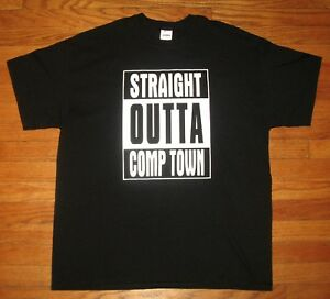 NEW STRAIGHT OUTTA QUARANTINE FUNNY COMICAL PARODY T-SHIRT COMPTON TEE