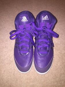 Hi Adidas c1 7 Leather Uk Size tops Purple 11prTxqE