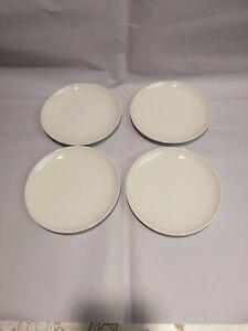 Franciscan Whitestone Ware, Cloud Nine, 4 dessert plates, 6.25 inches