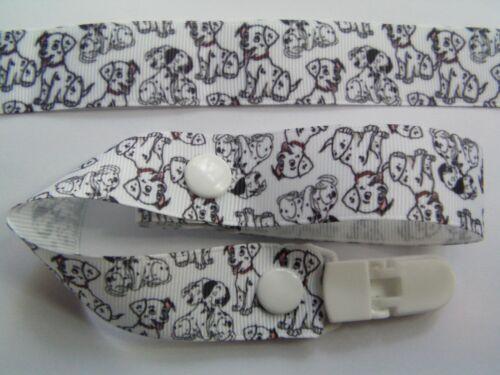 new Dummy Clip A 101 Dalmatians Gorgeous Dummy Strap Pacifier
