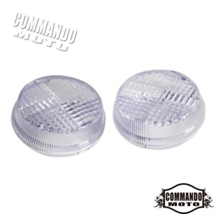 2x-Motorcycle-Turn-Signal-Light-Lens-Cover-For-Honda-Valkyrie-2001-2003-Clear