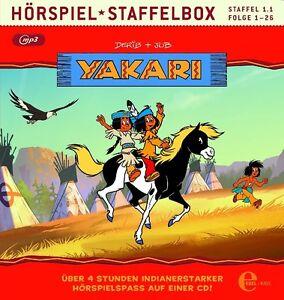 CD-YAKARI-Staffelbox-Folge-1-26-der-1-TV-Staffel-mp3-CD-NEU-OVP-amp
