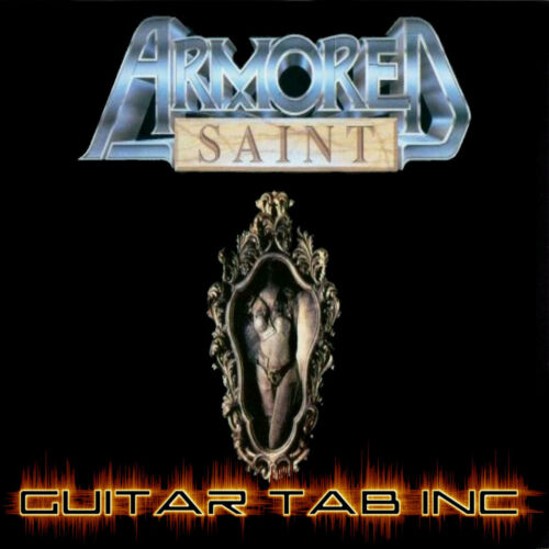 Armored Saint Guitar /& Bass Tab SYMBOL OF SALVATION Lessons on Disc Anthrax RARE