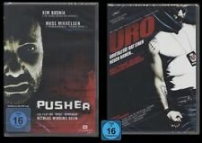 DVD PUSHER 1 + URO - 2 DISC SET - MADS MIKKELSEN + KIM BODNIA *** NEU ***