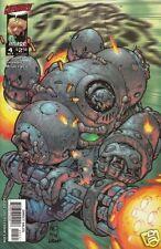 BATTLE CHASERS # 4 WAR GOLEM Cover Fi (Image,1998) original Comic Book