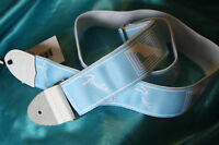 Fender For 2017 Custom Monogrammed Strap, Daphne Blue, Mpn 0990627004