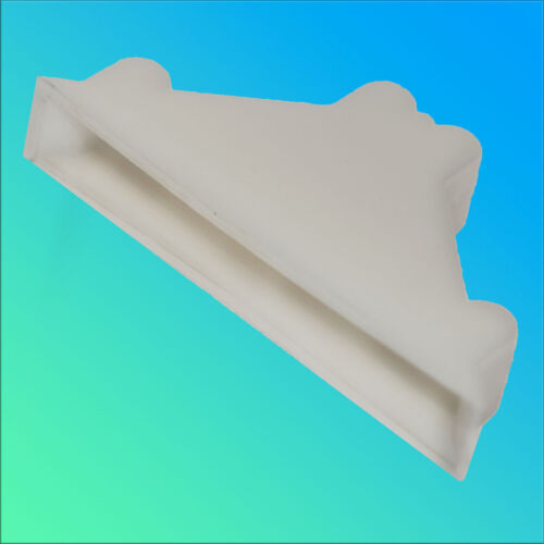 Schutzecke Weiß Kantenschutz Stoßschutz Eckenschutz für Glasscheiben 8 mm neu
