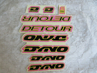 Dyno Detour Decals