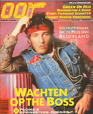 MAGAZINE OOR 1985 nr. 11 - BRUCE SPRINGSTEEN/FRANCOIS SCHUITEN/GREEN ON RED
