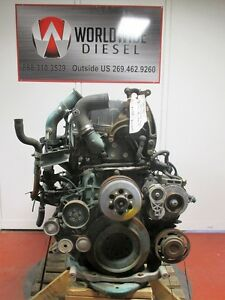Volvo D13 Diesel Engine Take Out, 326 HP, Complete, Turns 360, For Rebuild Only.