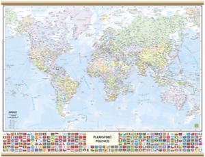 Cartina Mondo Con Bandiere.Cartina Mondo Mesal