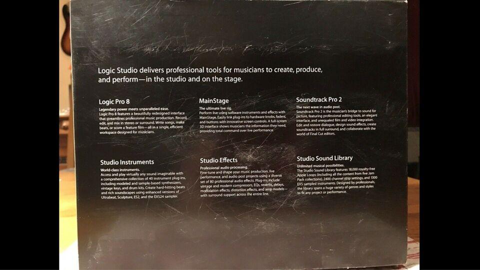 Logic. Studio, Logic Pro 8