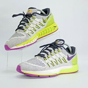 Nike Air Zoom Odyssey Men's Running Shoe WhiteVoltPurple