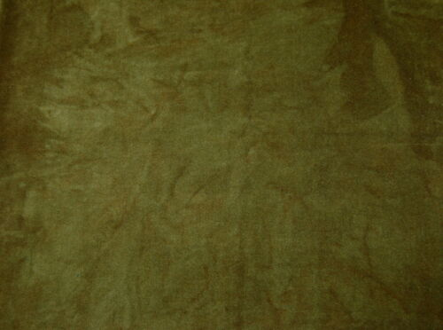 """HAND-DYED VELVETEEN for QUILTING /& APPLIQUE {Over-Dyed} ~ /""""GOLDEN OAK/"""""""