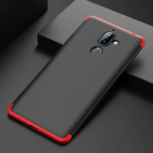cheap for discount 209ad 83c7b Details about For Nokia 7 Plus Slim 360°Full Hybrid Shockproof Armor Hard  Case Luxury Cover