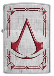 Zippo-Assassin-039-s-Creed-Lighter-Benzin-Sturm-Feuerzeug