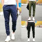 New Stylish Men's Autumn Full Length Straight Drawstring Trousers Pants lot DP