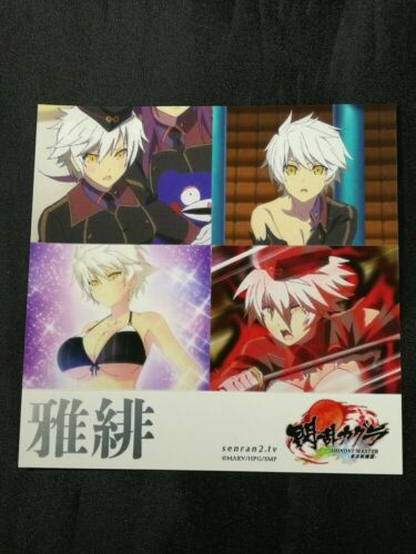 Senran Kagura Shinovi Master Seal sticker decal Card Anime Manga Japan MIYABI
