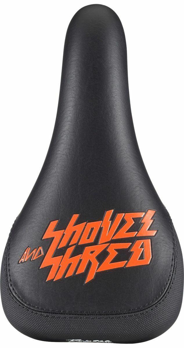 Reverse Nico Vink Shovel & Shrot MTB FR Downhill Fahrrad Sattel schwarz Orange