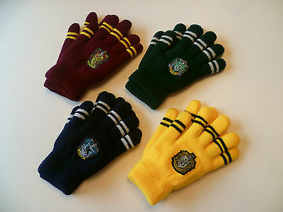 HARRY POTTER DOUBLE STRIPED GLOVES COSPLAY FILM REPLICA WORLD BOOK DAY
