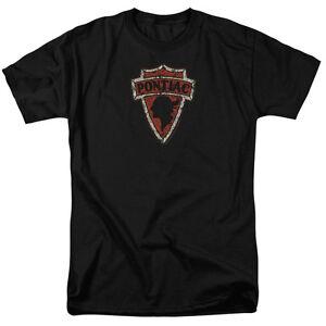 Pontiac-GM-Early-Arrowhead-Indian-Head-Logo-Licensed-Tee-Shirt-Adult-Sizes-S-3XL