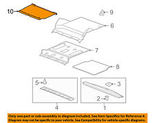 GM OEM Interior-Rear-Luggage Compartment Cover 15244021