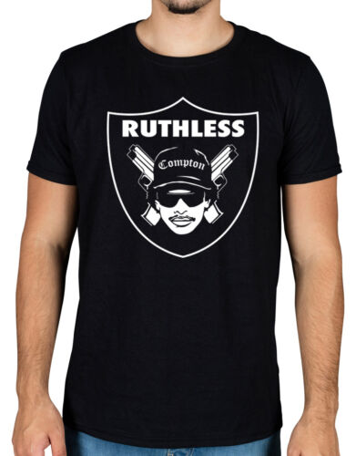 Eazy E Ruthless Raiders T-Shirt NWA South Central Compton