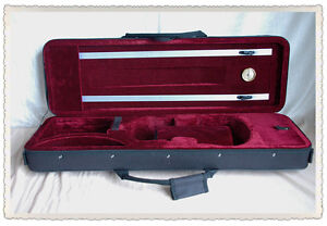 Free U.s Shipping Vc-350hrd New 4/4 Enhanced Foamed Violin Case Bin