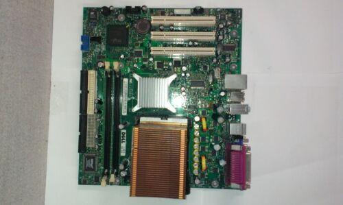 Dell Dimension 1100 B110 Motherboard w// 2.8//3.0GHz CPU WF887 R8060 Heatsink I//O