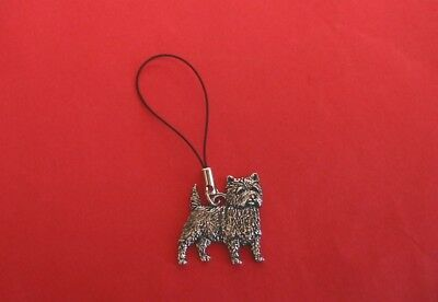 Cairn Terrier Pewter Zipper Pull Mum Dad Vet Christmas Useful Gift Free Pouch