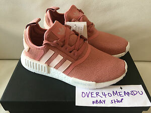 2914465b2 ADIDAS NMD R1 RUNNER WOMENS  RAW PINK VAPOUR PINK  UK 5 5.5 6 6.5 7 ...