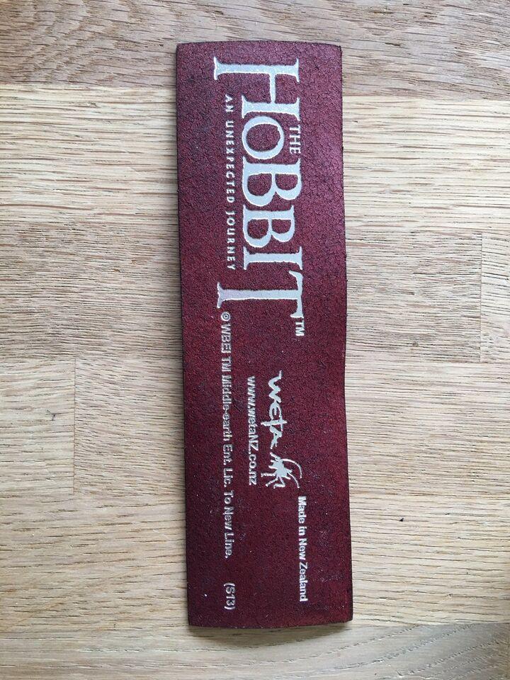 Andre samleobjekter, The Hobbit - købt i Hobbiton , New