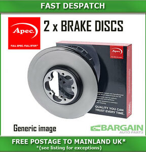 DSK3143 Genuine OE Quality Apec Front Vented Brake Discs