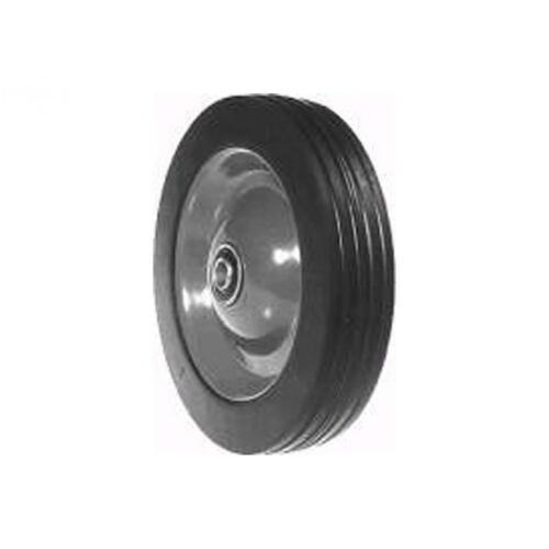 Steel Wheel Power Trim 332 Edger Wheel Painted Orange