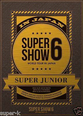 "SUPER JUNIOR WORLD TOUR ""SUPER SHOW6 in JAPAN"" Live Concert 3DVD Limited Edition"