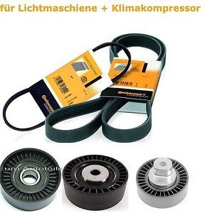 Keilrippenriemen-Satz-Spannrolle-Umlenkrolle-fuer-BMW-5-E39-6PK1538-5PK865