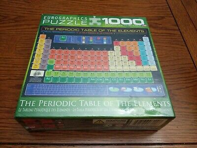 Eurographics 1000pc Jigsaw Puzzle PERIODIC TABLE OF THE ...