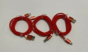 3-Pack-Micro-USB-Charger-Fast-Charging-Cable-Cord-For-Samsung-Android-Phone-Red
