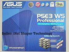 ASUS P5E3 WS Professional Socket 775 MotherBoard X38 *BRAND NEW*