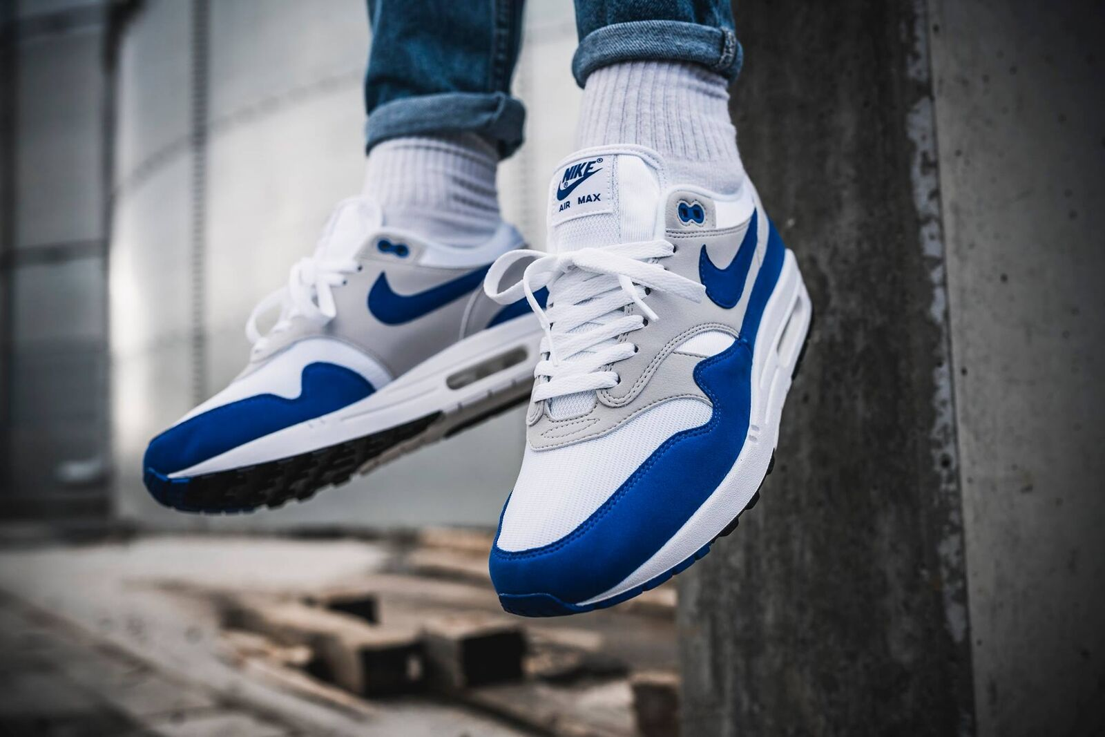Nike Air Max 1 OG Bleu anniversary 2018 6.5 7,5 41 hoa elephant master pinnacle