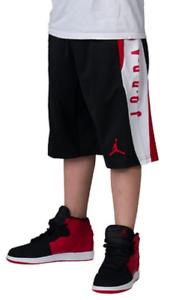 NWT NIKE JORDAN Dri-FIT BOYS//YOUTH KNIT SHORTS Color:RED//NAVY//BLACK Size:M//L//XL