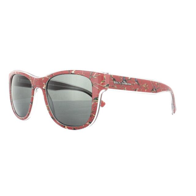 393726dea3b4 Dolce   Gabbana 0dg4284 Sun Square Unisex Sunglasses - Size 54 Grey ...