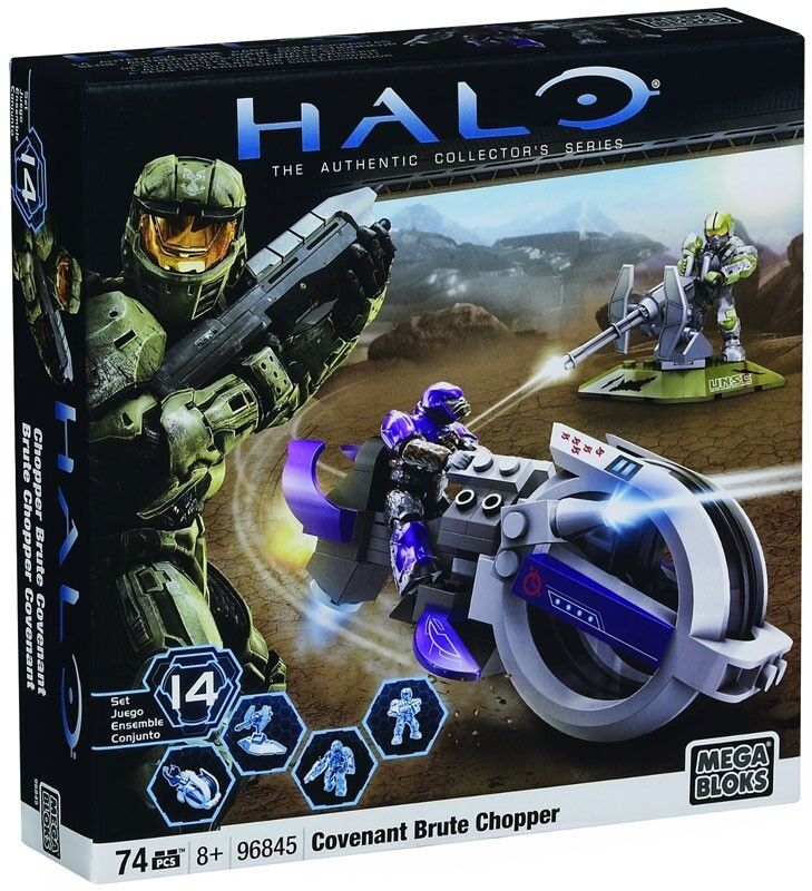 Mega Bloks Halo Covenant Brute Chopper Set  96845